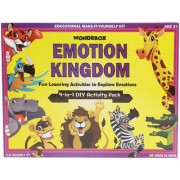 WondrBox learning and educational toy - Emotion Kingdom activity kit for 3-5 year old Multicolor