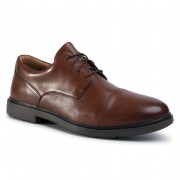 Обувки CLARKS - Un Tailor Cap 261461267 Tan Leather