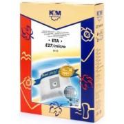 Sac aspirator ETA 419 sintetic 4X saci + 2 filtre K and M