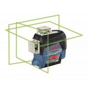 Nivelă laser cu linii Bosch Professional GLL 3-80 CG, 30 m, ± 0,2 mm/m, Diametru domeniu de lucru receptor 120 m, 0601063T00
