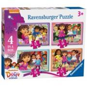 Puzzle Dora Si Prietenii, 12/16/20/24 Piese Ravensburger