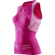 X-Bionic The Trick - top running - donna - Pink/White