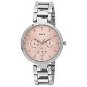 Timex Quartz Pink Round Women Watch TW000X206