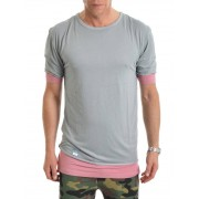 Cayler & Sons Deuces Long Layer Tee Grey L