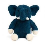 natureZOO Ekologisk Elefant Plush Gosedjur Mörkblå