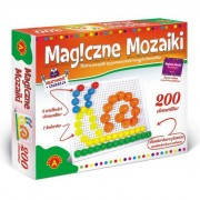 Joc educativ Alexander, Mozaicul magic, 200 piese