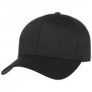 Cappellishop Spandex Flexfit Cap in nero-nero, Gr. L/XL (58-61 cm)