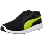 Puma Unisex St Trainer Evo Idp Puma Black and Safety Yellow Running Shoes - 10 UK/India (44.5 EU)