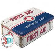 Bromma Kortförlag Plåtburk First Aid Emergency Supply