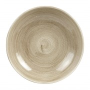 Churchill Super Vitrified Churchill Stonecast Patina Antique Coupe Bowls Taupe 248mm