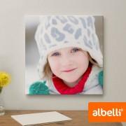 Albelli Jouw Foto op Canvas - Canvas Vierkant 40x40 cm.