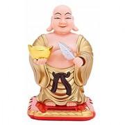 KARTIK Solar Powered Bobblehead Toy Figure Nohohon Buddha