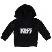 kapucnis pulóver gyermek Kiss - Logo - Metal-Kids - MK212