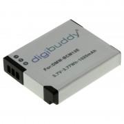 Bateria Compatível com Panasonic Lumix DMC-FT5, DMC-TZ40, DMC-TZ41 - 1020mAh - Íon de Lítio - 3,7V.
