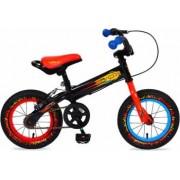 Bicicleta Copii Moni Balance 2 In 1 On Fire