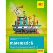 Culegere de probleme pentru Clasele II-IV. Concursul national de matematica LuminaMath
