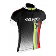 copilăresc ciclism jersey Silvini ECHIPA copii CD842K negru