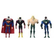 Justice League Journey to Atlantis 4 Pack Includes: Superman, The Flash, Green Lantern and Aquaman!