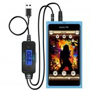 FM Трансмитер с Micro USB Зарядно за GSM, Таблет, Лаптоп, МП3 - BlueMate FM-185