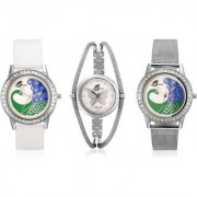 Arum Triple Combo of Fashion Watches AW-032