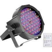 Cameo LED PAR reflektor Cameo CLPFLAT1RGB10IR, 144 x, černá