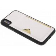 Witte Cardslot Hardcase voor de iPhone Xs / X