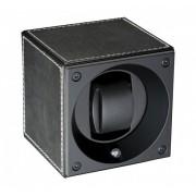 Dispozitiv de intoarcere ceasuri Swiss Kubik - Black Leather