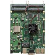 MikroTik MikroTik RouterBOARD 800 with MPC8544 800MHz CPU, 256MB RAM, 3 Gbit LAN, 4 MiniPCI, 1 MiniPCI-e slot, RouterOS L6
