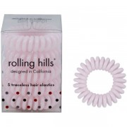 Rolling Hills Professional Hair Rings Light Pink