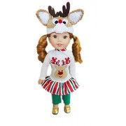 My Brittany's Holiday Set for American Girl Dolls Wellie Wishers