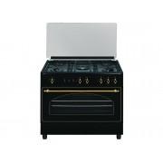 VITROKITCHEN Cocina VITROKITCHEN RU9060B (110 L - Gas Butano-propano - Negro)