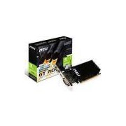 Placa De Video Msi Geforce Gt 710 1gb Ddr3 64bit