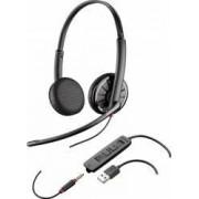 Casti Stereo Call-Center Plantronics Blackwire 325.1 USB/3.5mm Jack