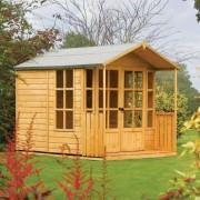 Rowlinson Arley Summer House with Covered Veranda
