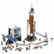 Lego Конструктор Lego City Space Port Ракета для запуска в далекий космос и пульт управления запуском