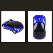 ELECTROPRIME 2.4G Optical Wireless USB Mouse Mice 3D Car Shape for Computer Laptop Notebook