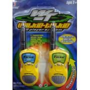 Adó-Vevő Walky-Talky Sárga 2db-os szett - Gyerek játék - No.: 7723