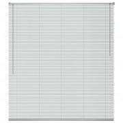 vidaXL Jaluzele de fereastră, aluminiu, 80 x 160 cm, argintiu