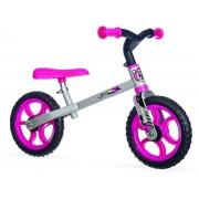 Bicicleta echilibru First Bike fara pedale, roz