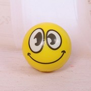 Tradico® Smile Face Anti Stress Reliever Ball ADHD Autism Mood Toys Squeeze Relief Funny