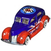 2013 the Who Hot Wheels (Collectors Edition) Fat Fendered 40 (Ford) Metal / Metal Real Riders Toy Ca