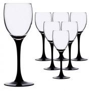 Набор фужеров для вина 250мл 6шт Luminarc Domino H8169