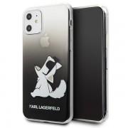 Karl Lagerfeld Choupette Fun iPhone tok (fekete) - 11 Pro Max