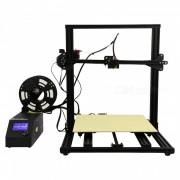 Creality 3D CR - 10 - Kit de impresora de escritorio 3D DIY ampliada - Negro (enchufe de EE. UU.)