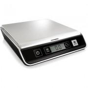 Dymo M10 brev/paketvåg med digital display, silver/svart