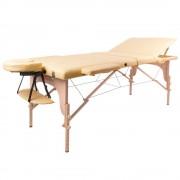 inSPORTline Fa Masszázs Asztal InSPORTline Japane - 3 Részes 9408/arany