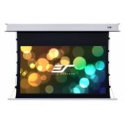 Ecran proiectie tensionat electric Elitescreens Evanesce Tab Tension B ETB110HW2-E8, 243.8cm x 137cm, incastr. in tavan