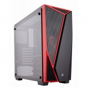 Carcasa Corsair Carbide Series SPEC-04 Tempered Glass Red Black
