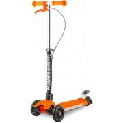 Самокат-кикборд Novatrack RainBow, колеса 120мм, оранжевый