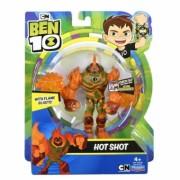 Ben 10, Figurina Hot Shot 12 cm (articulata)